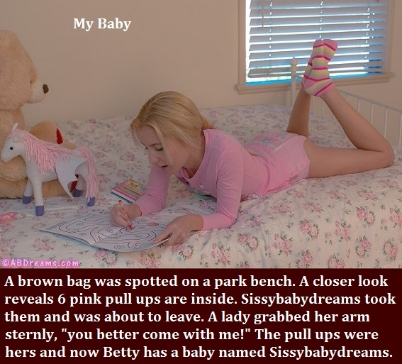 Pull Up or Diaper - A caption about each with bonus Apple caption., Diaper,Pull Up,AB Girl,Sissybaby, Adult Babies,Feminization,Identity Swap,Sissy Fashion