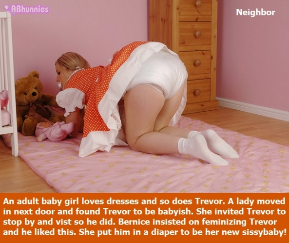 BABY FUN - Adult babies are having fun as sissybabies. Mommy or daddy may be supervising., Sissybaby,Mommy,Daddy,Diapers, Adult Babies,Feminization,Identity Swap,Sissy Fashion