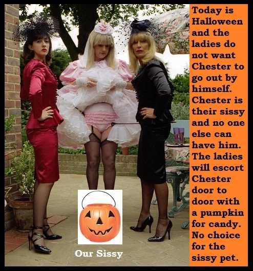 Halloween 2 - Two cappies with a seasonal Halloween theme., Witch,Sissy,Mistress,Dominate, Adult Babies,Feminization,Identity Swap,Sissy Fashion