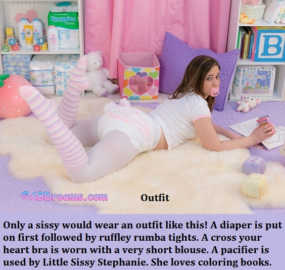 New Year 2018 - 4 - I have captioned many of my Sissy Kiss friends already having fun in the new year., Sissy,Sissybaby,Diaper,Panty, Adult Babies,Feminization,Identity Swap,Sissy Fashion