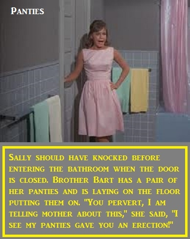 Mini Series - Gidget - Here is Baby Butch's version of the old show Gidget. Should have been AB Gidget or Sissy Gidget., Panties,Sissy,Cross Dress,Feminized, Adult Babies,Diaper Lovers,Breast Feeding,Wetting The Bed