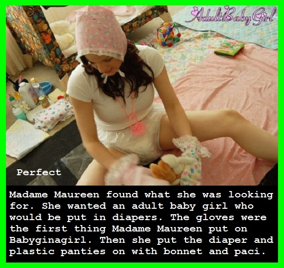 ADULT BABIES - I made a couple of cappies for Babyginagirl and Trevor., Mommy,Sissybaby,Diaper, Adult Babies,Feminization,Humiliation,Diaper Lovers