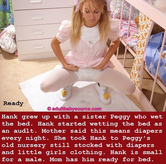 Nappy Happy - Adults are happy to be put in a nappy. Some people are happy to put you in a nappy., Student,Nappy School,Nappied,Mommy, Adult Babies,Feminization,Identity Swap,Diaper Lovers