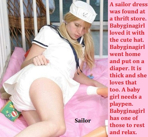 Triple Play - Three diapered sissybabies are enjoying playing., Love,Sissybaby,Diaper,Plastic Panties, Adult Babies,Feminization,Identity Swap,Sissy Fashion