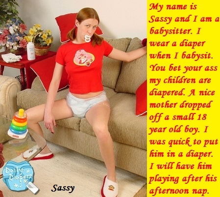 Styles and Themes - I posted seven cappies in various styles and themes. A poll is included to pick favorites., Diaper,Nurse,Sissy,Babysitter, Adult Babies,Feminization,Humiliation,Diaper Lovers