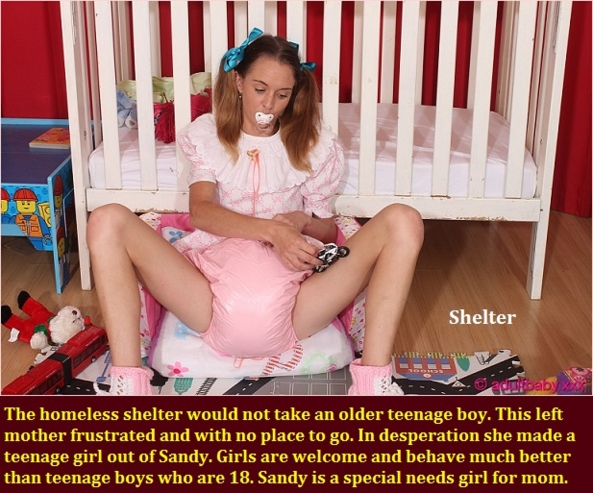 Diaper Changes - Life is full of changes including being put back in diapers at an older age., Diaper,Humiliation,Babied,Sissybaby, Adult Babies,Feminization,Identity Swap,Sissy Fashion