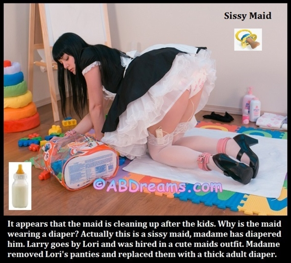 15,000TH POST - Wow, I can't believe I am making my 15,000th post on Sissy Kiss! This one contains a variety of captions., Humiliate,Dominate,Sissybaby,Sissy,Diaper, Adult Babies,Feminization,Identity Swap,Sissy Fashion,Spankings