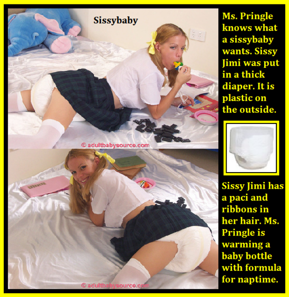 Scrapbook Cappies 14 - I have captioned 6 friends to be under the spotlight in my scrapbook., Diaper,Dominate,Humiliate, Adult Babies,Feminization,Identity Swap,Diaper Lovers