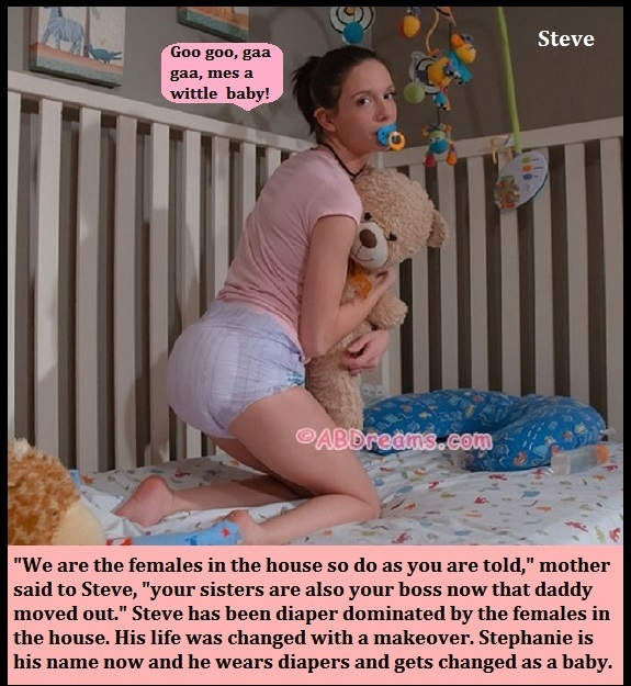 Been Nappied - Have you ever been nappied? It can happen to adults too., Wetting,Nappied,Dominated,Humiliated, Adult Babies,Feminization,Identity Swap,Sissy Fashion