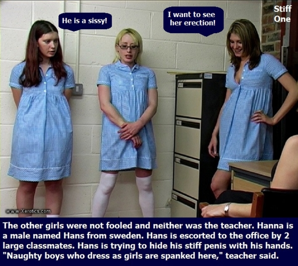 Humiliation 3 - I have posted 6 humiliation cappies with a poll for favorites., Diaper,Panty,Sissy,Dominate, Adult Babies,Feminization,Identity Swap,Sissy Fashion