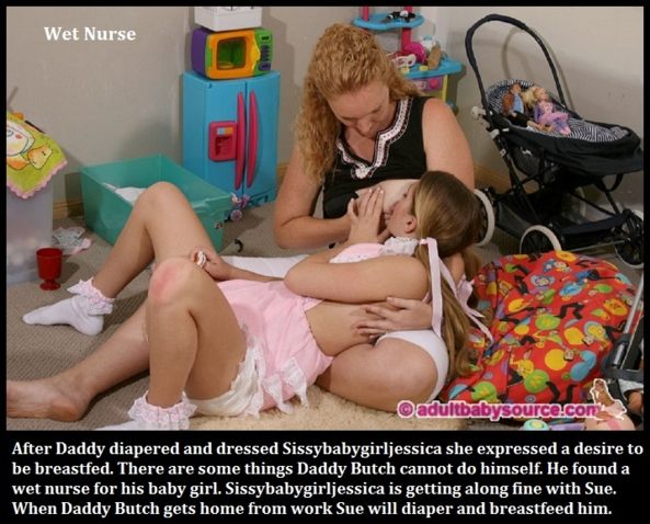 Eight Is Enough - I made 8 new captions about diapered babies who are Sissy Kiss members., Diaper,Dominate,Love,Sissy, Adult Babies,Feminization,Identity Swap,Sissy Fashion
