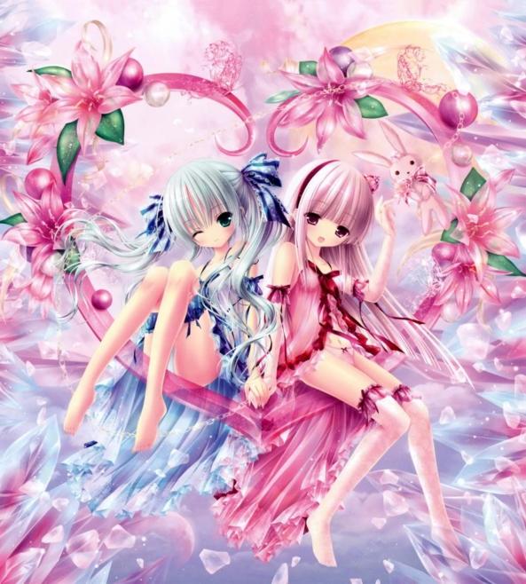 2 Cute lil Girls - True Love
