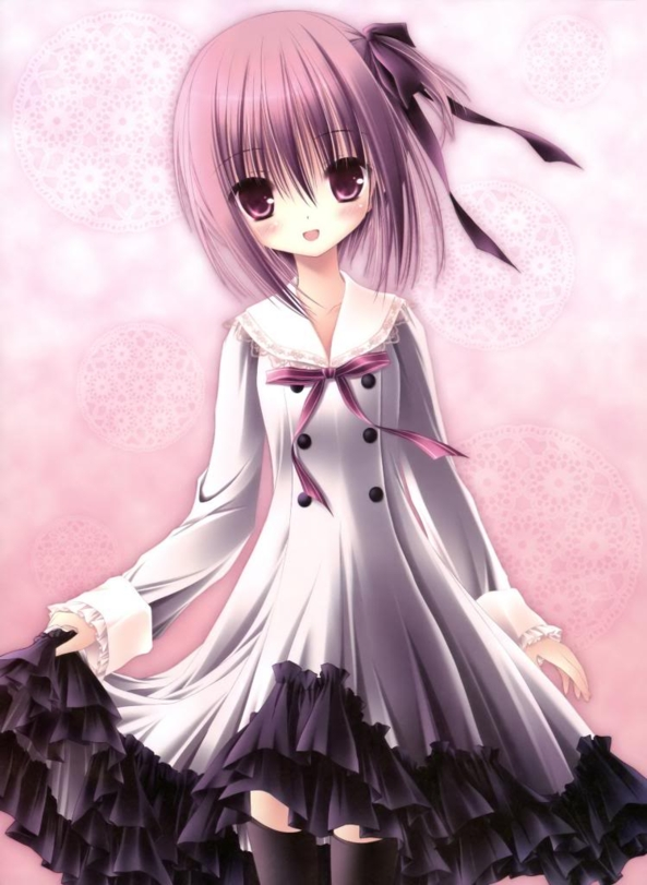 Cute lil Girl In A Cute Dress