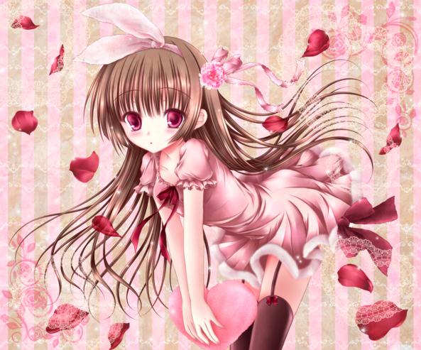 Super Cute lil Valentine Girl