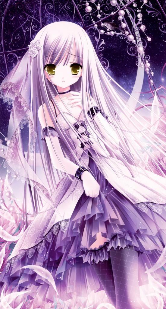 Nervous lil Girl Bride