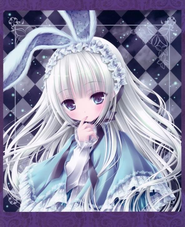 Very Cute And Sweet Neko Bunny Girl
