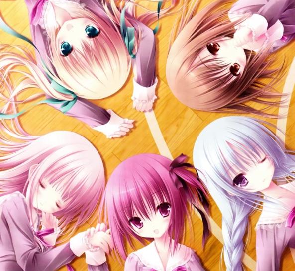 Very Cute lil Girls - Besties