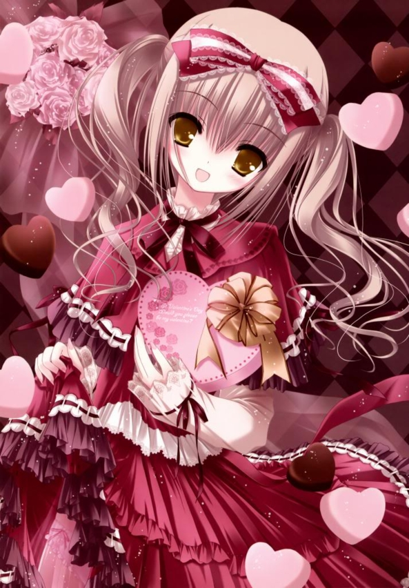Very Cute lil Valentine Girl