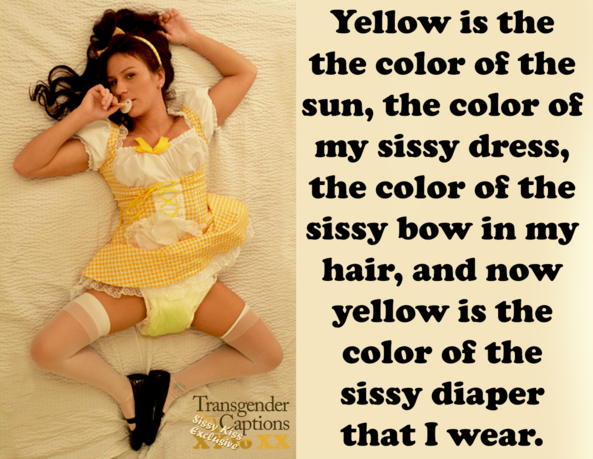 yellow , Image tags., Diaper Lovers,Adult Babies,Humiliation,Sissy Fashion,Wetting The Bed