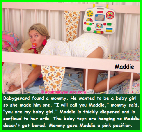I found my mommy - Baby Gerard finally found her mommy, and She is happy with her, baby,girly,Baby Girl,Pacifier,Diaper,Adult Baby,Mommy, Adult Babies,Diaper Lovers,Feminization