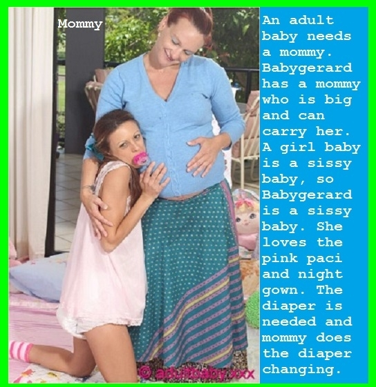 THANKS BABY BUTCH - The happiest little girl with this pics, baby,adultbaby,girl,babygirl,babygerard,diaper,, Adult Babies
