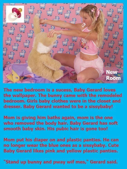 Girl Baby Bedroom to Baby Gerard, By: babybutch, Bedroom,Princess,Bunny,Baby,Girly,Diaper,Baby Girl
