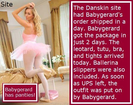 Pretty Ballerina, Ballet,Ballerina,Baby,Girl,Panties,Tutu,Girly