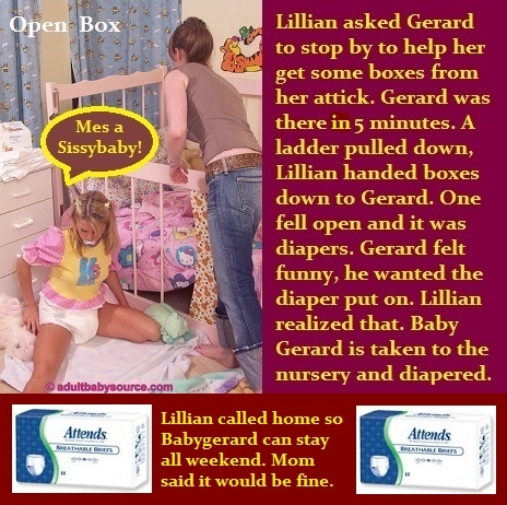 Open BOX by: Baby Butch, Baby,Diaper,Girly,Diapered,Nursery,Mommy,