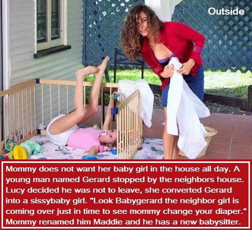 Outside playing and change Her, Baby,Baby Girl,Toddler,Diaper Change,Mommy