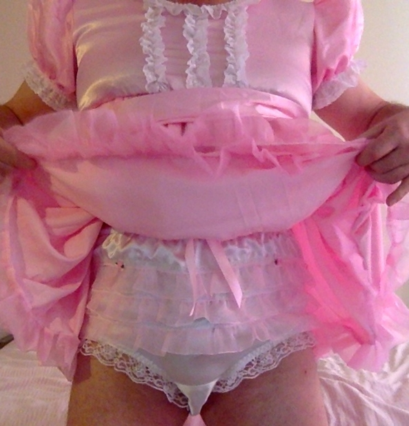 My favourite panties, Gorgeous frilly panties