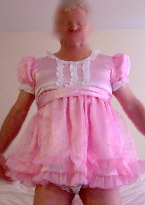 Pretty pink and frilly, Sissy outfit,frilly,sissy,pink