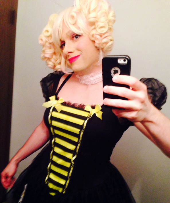 Dress Up Time, Bee,Frilly,Sissy,Curly,Kisses,Prissy