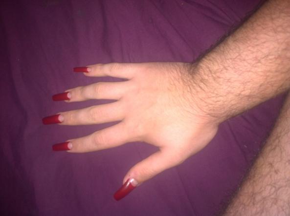 Nails, Sissy,nails,feminization