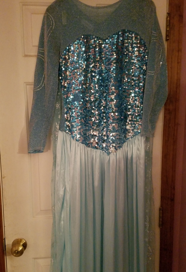Elsa Dress - This dress is going out on the town., Disney,Princess,Dress, Sissy Fashion,Dolled Up,Fairytale