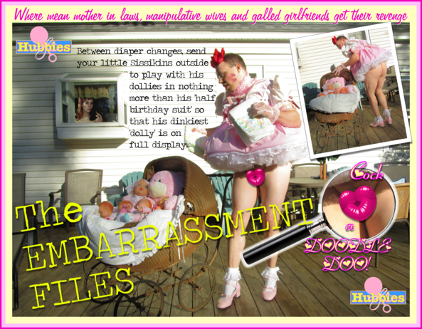 THE EMBARRASSMENT FILES: Dolly Show-and-Tell Time!, fmatty,fanny matty,fanny mattie,Little Mattie Fanny,Little Fanny Mattie,Hubbies.com,Hubbies,WHAP Magazine,Women Who Administer Punishment,sissybaby, Adult Babies,Thumb Sucking,Feminization,Dominating Mistress Or Master,Sissy Fashion,Spankings,Dolled Up,Bad Boy To Good Girl