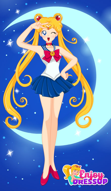 Sailor Moon Blue, sailor moon