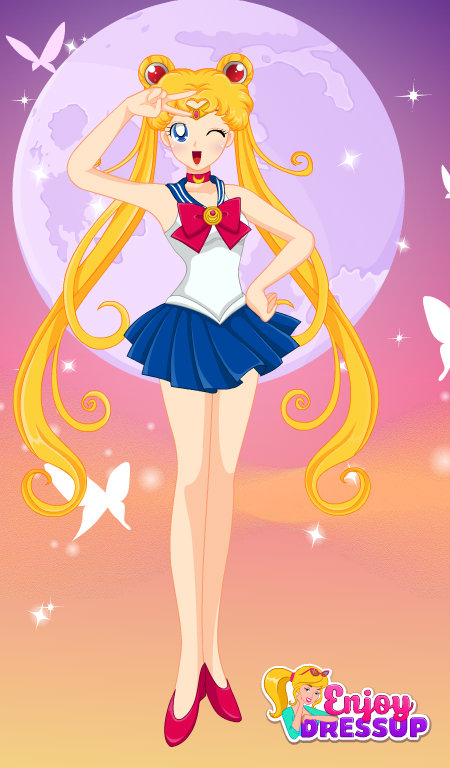 Sailor Moon Pink, sailor moon
