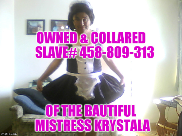 Mistress Krystala's Sissy - sissy maid, Sissy tammy, Dominating Mistress Or Master,Humiliation,Sissy Fashion