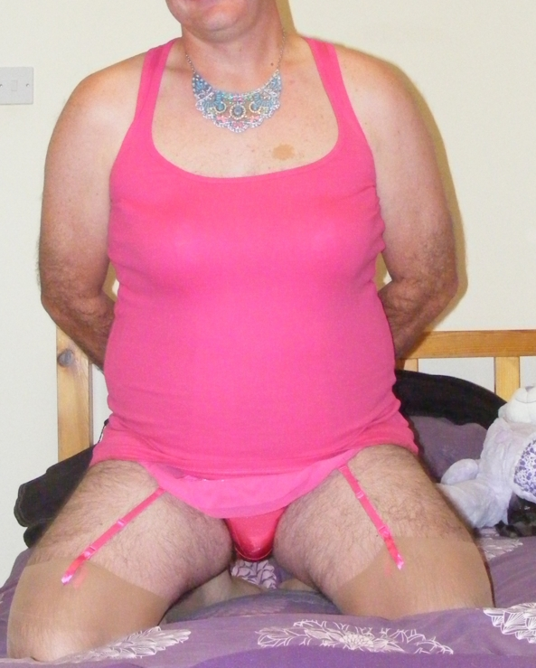 Old pic that mummy wanted - naughty girl day, sissy, Feminization