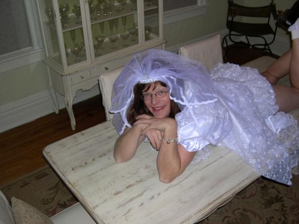 Juliemj2002, Sissy baby diaper plastic cuckold
