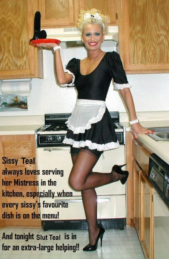 Sissy Maid - Teal loves her job, sissy maid, Sex Toys,Dominating Mistress Or Master,Feminization