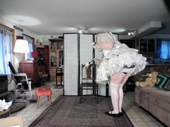 Ready to help...make the bed.... - Maid to Order :), sissy,maid,crossdress,, Feminization,Dolled Up,Sissy Fashion