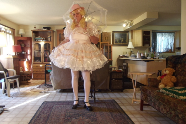 Hillbilly Sissy - My Square Dance Dress, sissy,crossdress, Feminization,Dolled Up,Sissy Fashion