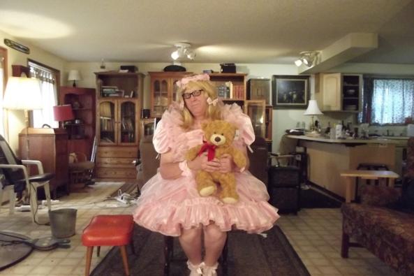 Teddy says Hi - I feel most comfortable in Pink, sissy,crossdress,, Feminization,Dolled Up,Sissy Fashion