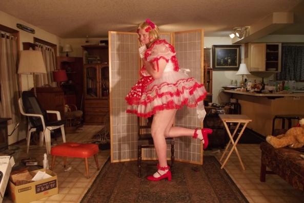 Pretty Polkadots - Teddy was in my chair!, Sissy,crossdress, Adult Babies,Feminization,Dolled Up,Sissy Fashion