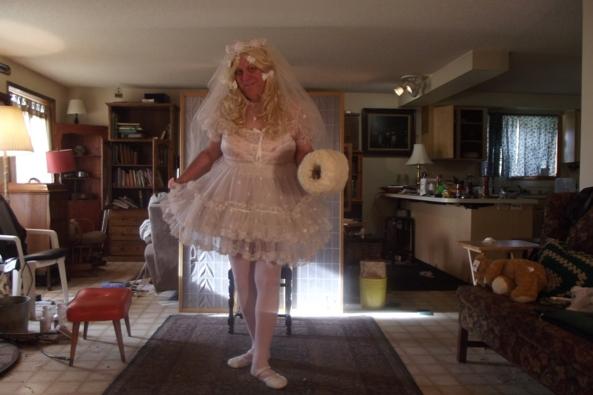 A sissy Communion - Teddy likes me to dress up, sissy,crossdress,, Feminization,Holiday,Dolled Up,Sissy Fashion,Wedding