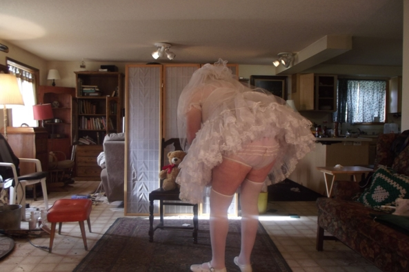 A sissy Communion - Teddy likes me to dress up, sissy,crossdress,, Feminization,Holiday,Dolled Up,Sissy Fashion,Wedding