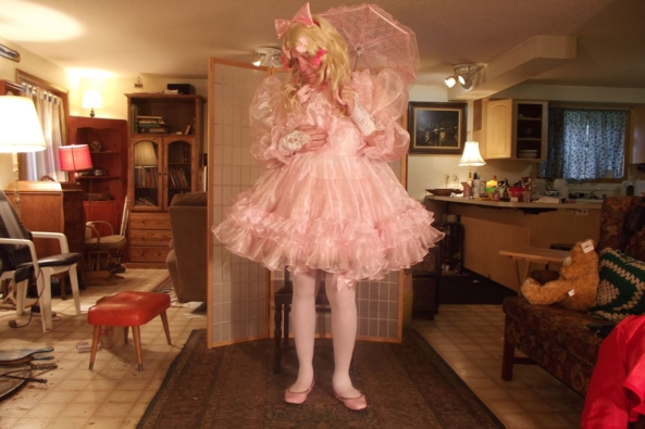 Prissy Sissy and Frilly to the max - I am just so....Excited!, sissy,crossdress,frilly,, Feminization,Holiday,Dolled Up,Sissy Fashion
