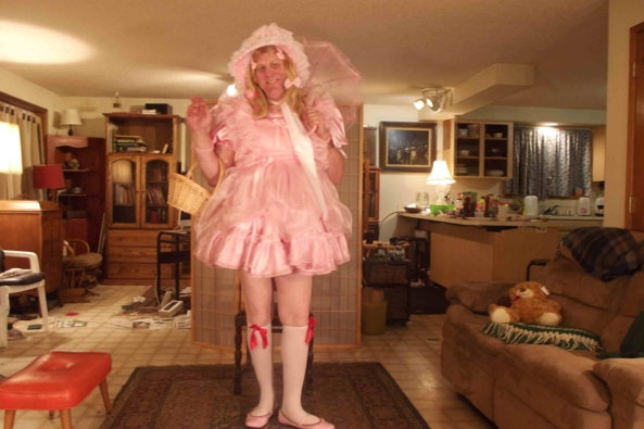 Simply Pink and Prissy, sissy,crossdress,, Feminization,Dolled Up,Sissy Fashion