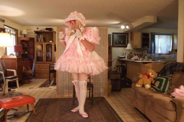 Oh so Prissy - A  buncha pics, sissy,crossdress,, Feminization,Bondage,Sissy Fashion